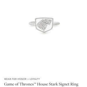 GOT House Stark Signet Ring